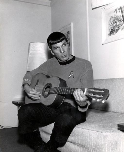 spock's guitar