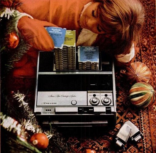 mid60s weird cassette tape machine