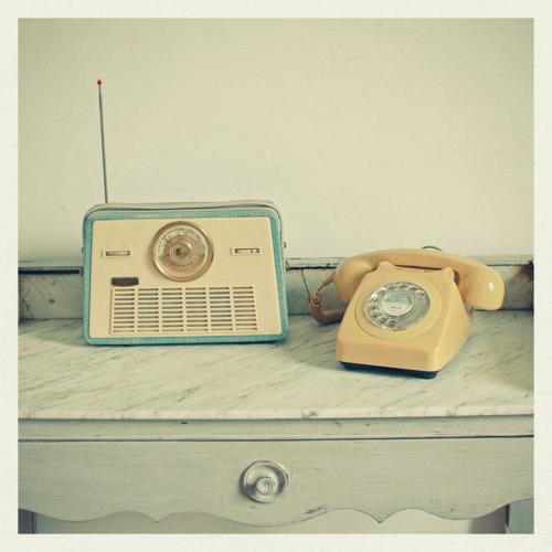 phone and radio