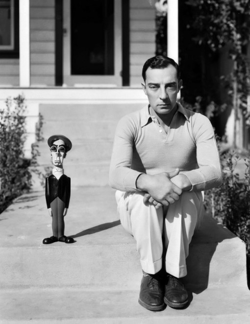 Buster and doll