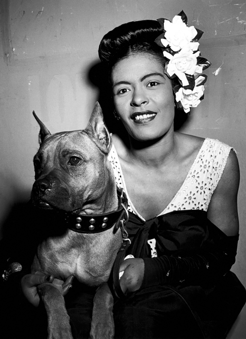 Lady Day and Doggie