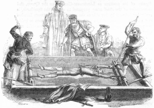 rogues-cuthbert-simpson-on-the-rack-antique-print-1845-71236-p