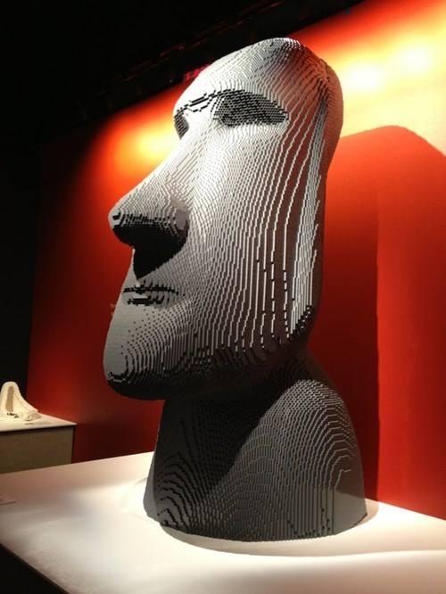 Moai lego