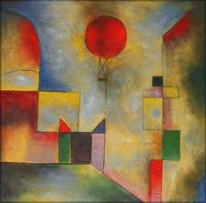Klee red baloon
