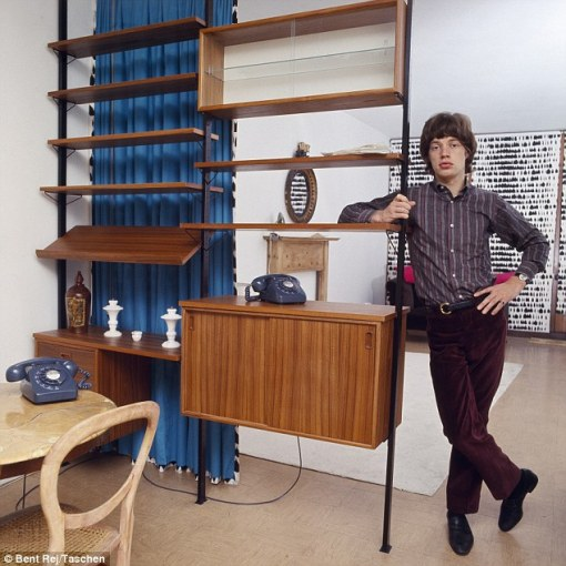 Mick_Jagger at home