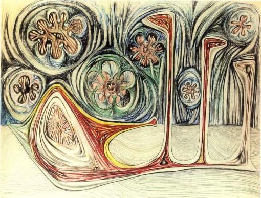 roberto matta snail-s-trace-1937