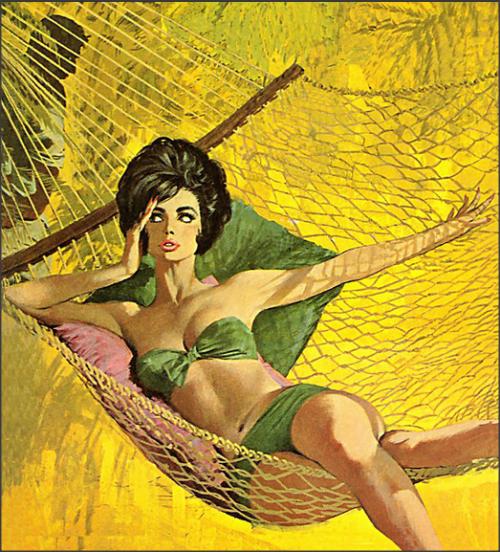hammock girl
