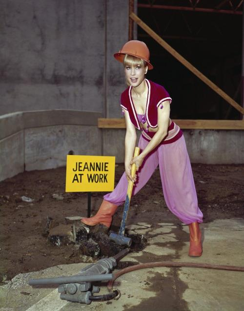 jeannie at work 2