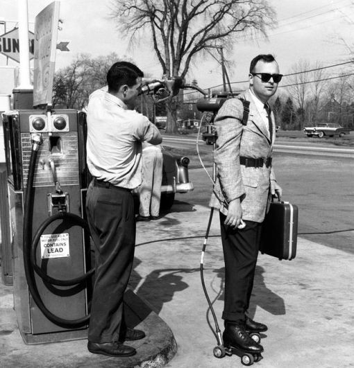 gas powered skate